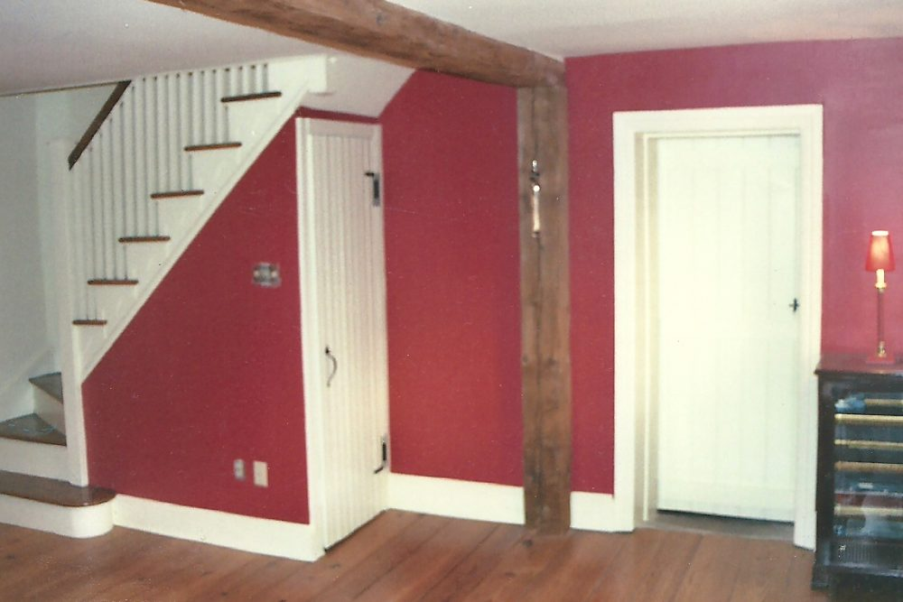 INTERIOR WALLS _ TRIM AFTER