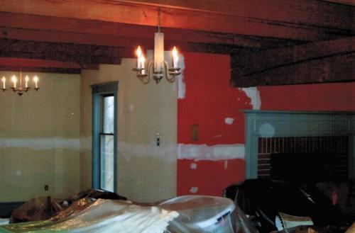 Repainted Living Room Before