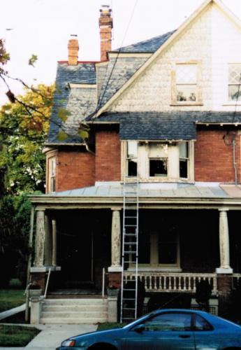 Home Exterior Repaint Before