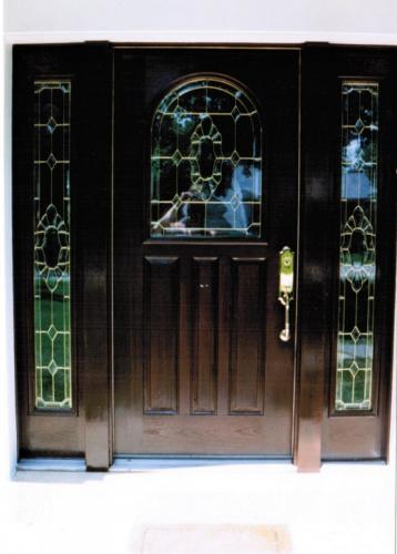 Repainting Door After