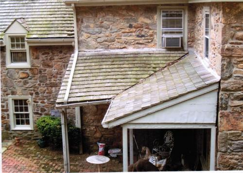 Patio Roofing Renovation Before