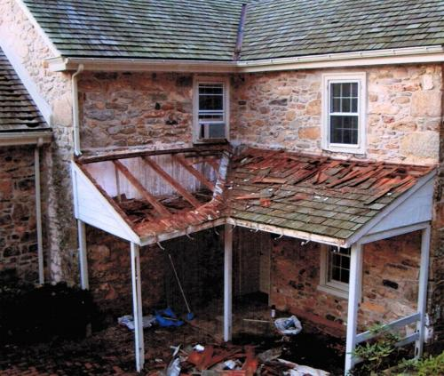 Patio Roofing Renovation During