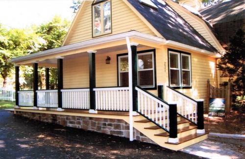 Porch Railing Repaint After