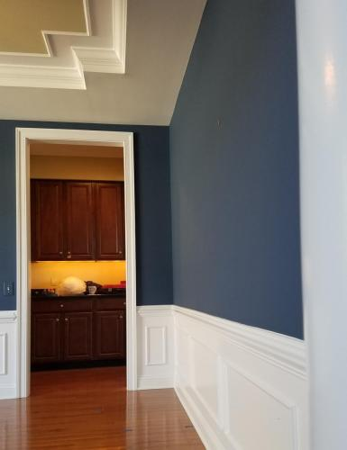 210 - TRAY CEILING   WALL AFTER