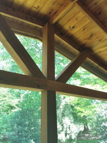540 - WOOD PORCH CEILING AFTER