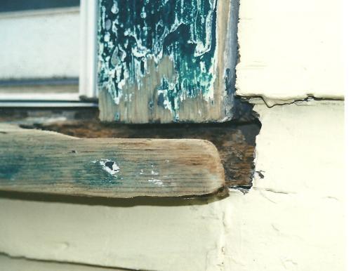 985 - WAYNE WINDOW REPAIRS BEFORE