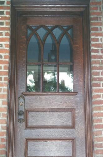 9995.1 - SOLID WOOD DOOR RESTORATION AFTER